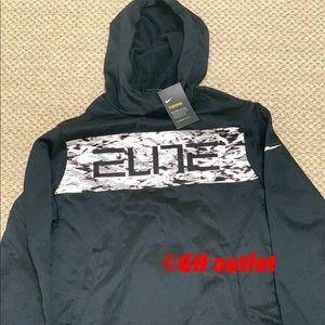 Nike Elite Therma Dri-Fit Hoodie Black